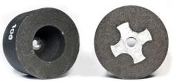 Чашка цилиндрическая с металлическим креплением М14 диаметр 100 мм