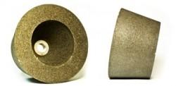 Чашка шлифовальная конусная c металлическим креплением М14 диаметр 80х100 мм