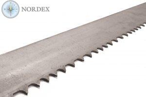 Ленточная пила NORDEX M42 Положительный зуб